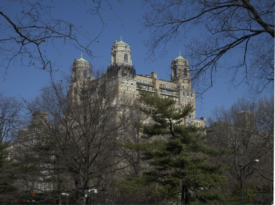 Building from Central Park West