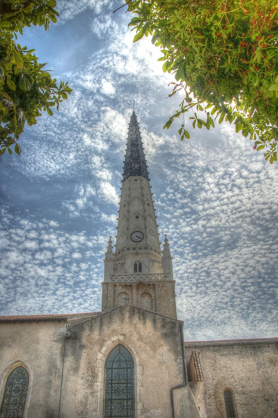Ars-En-Re Church Steeple