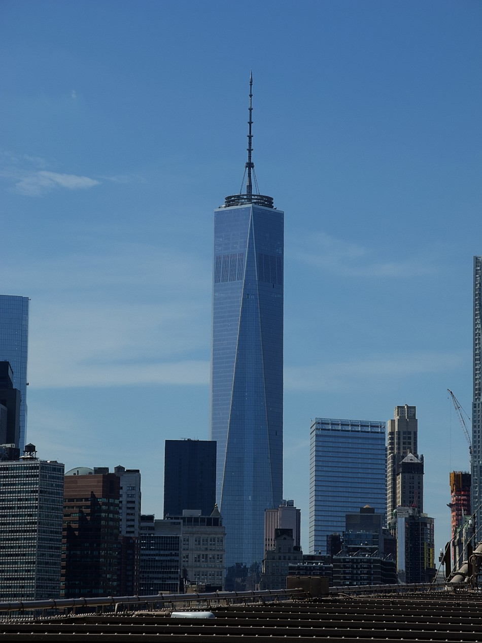 Freedom Tower from Brooklyn Bridge – Photography by ...