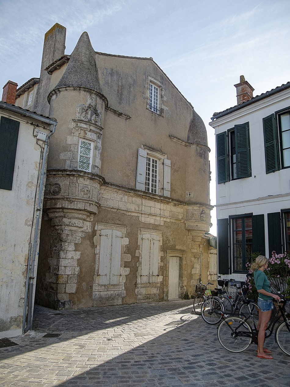 Old Chateau in Ars-En-Re