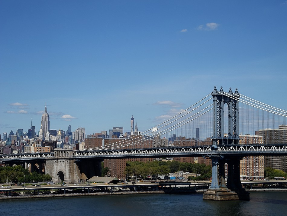 The View from the Brooklyn Bridge