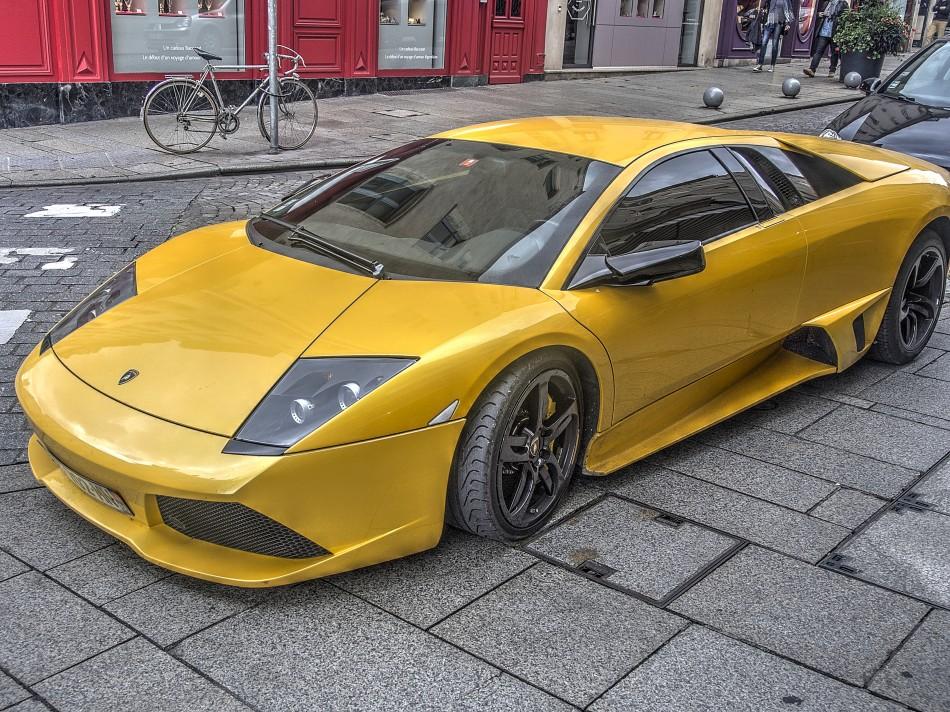 Lamborghini in Nancy