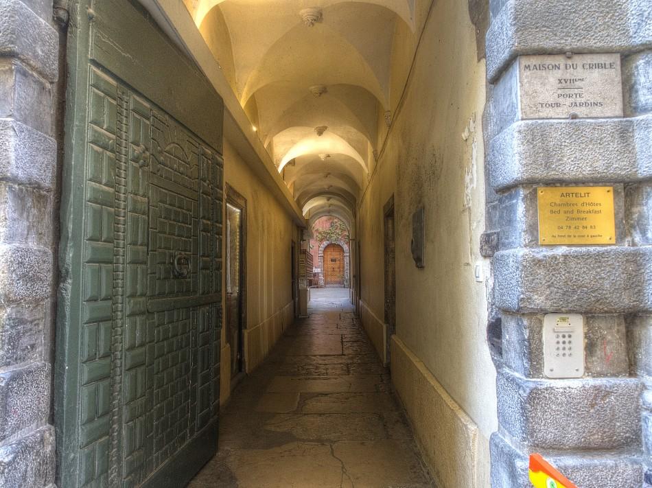 Traboule in Vieux Lyon