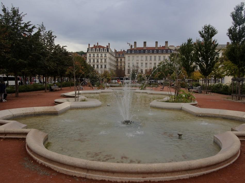 A Fountain in Lyon