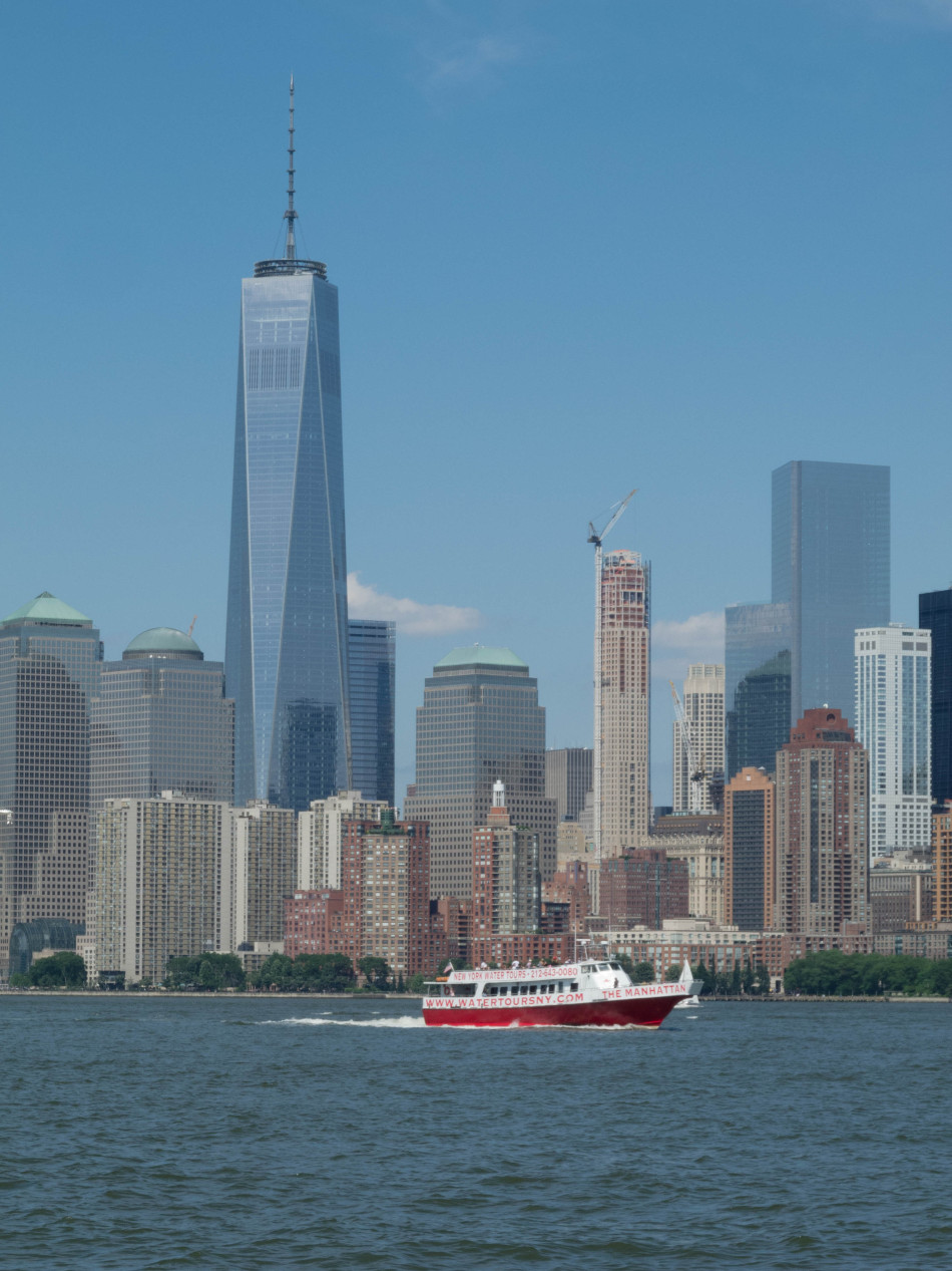 One World Trade Center from Liberty Island