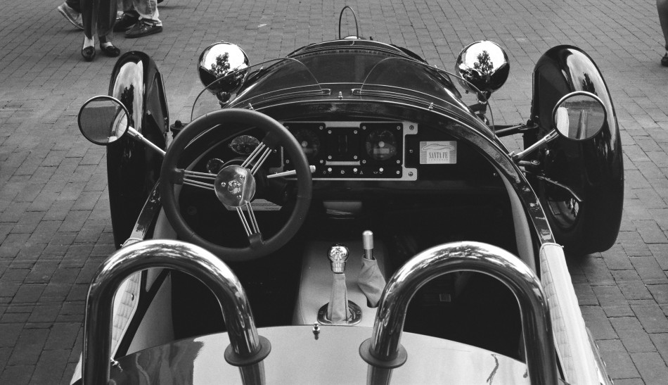 Morgan Cockpit
