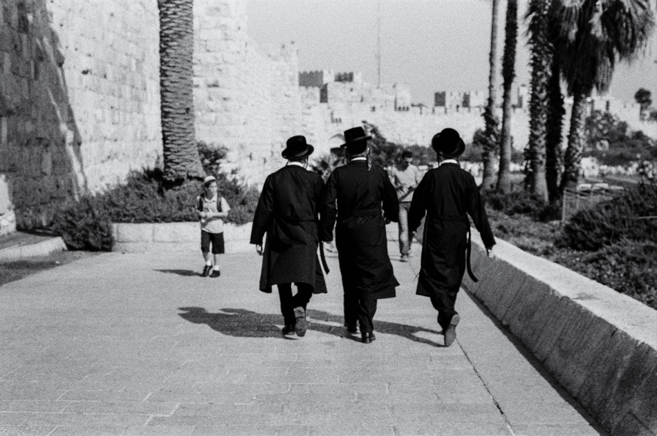 Everything is Black and White in Jerusalem