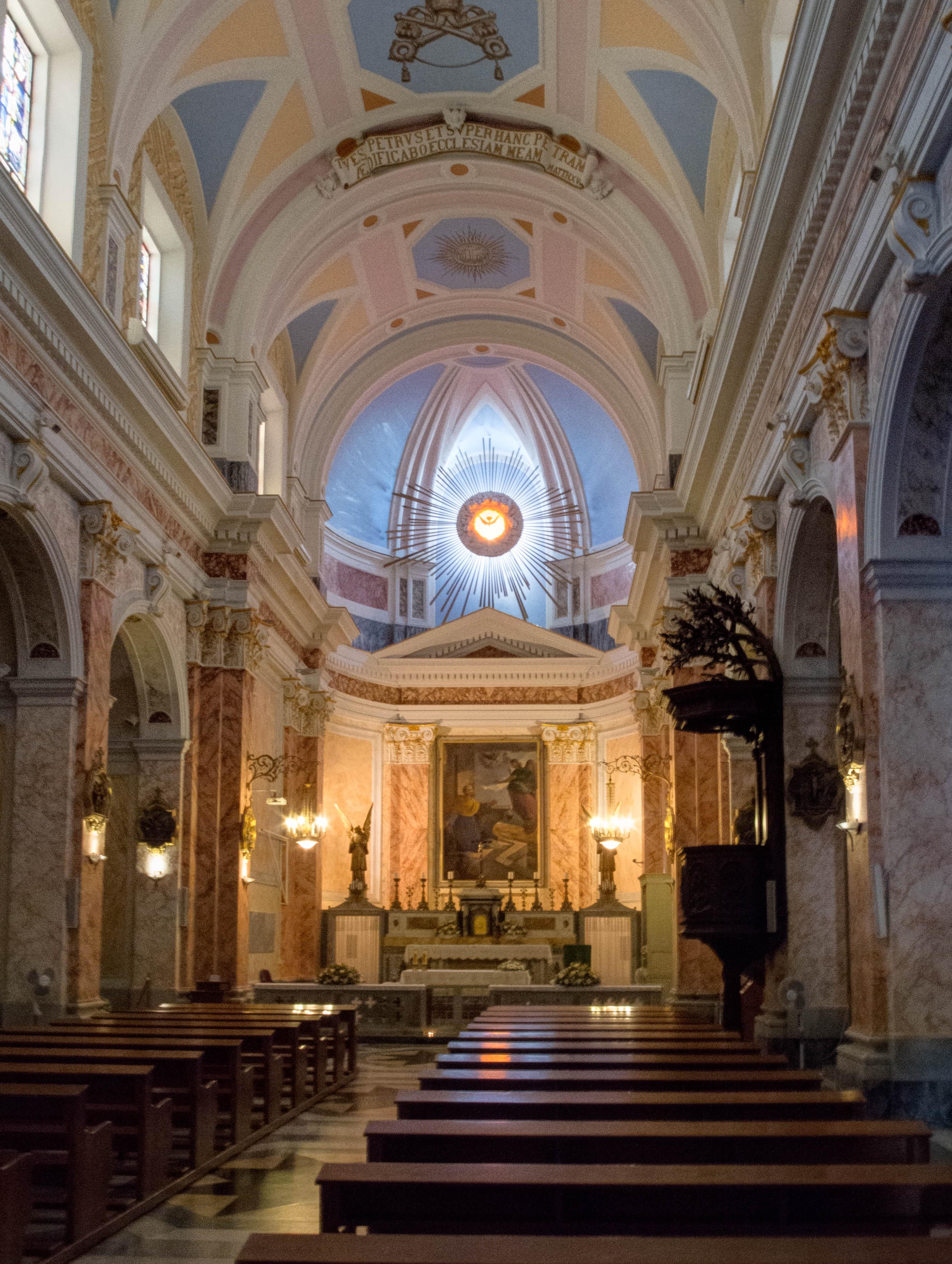 Jaffa Church Interior