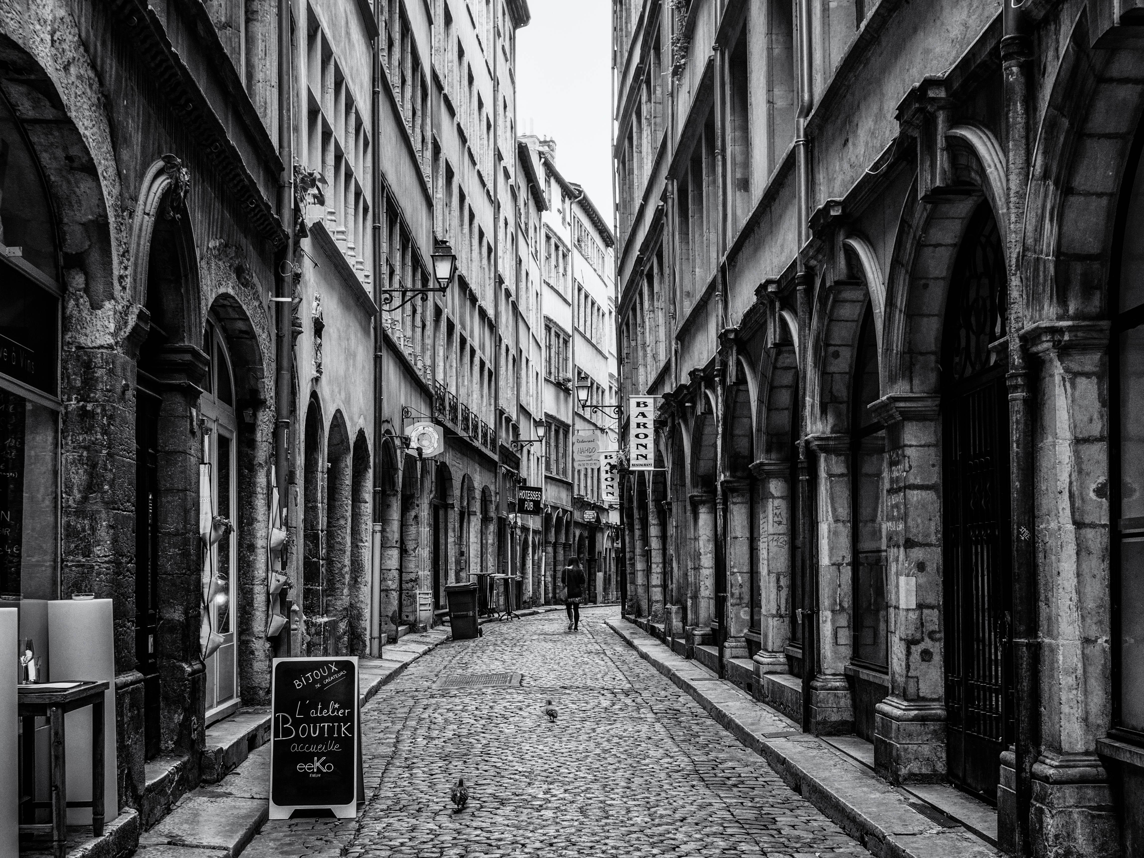 Vieux Lyon Street