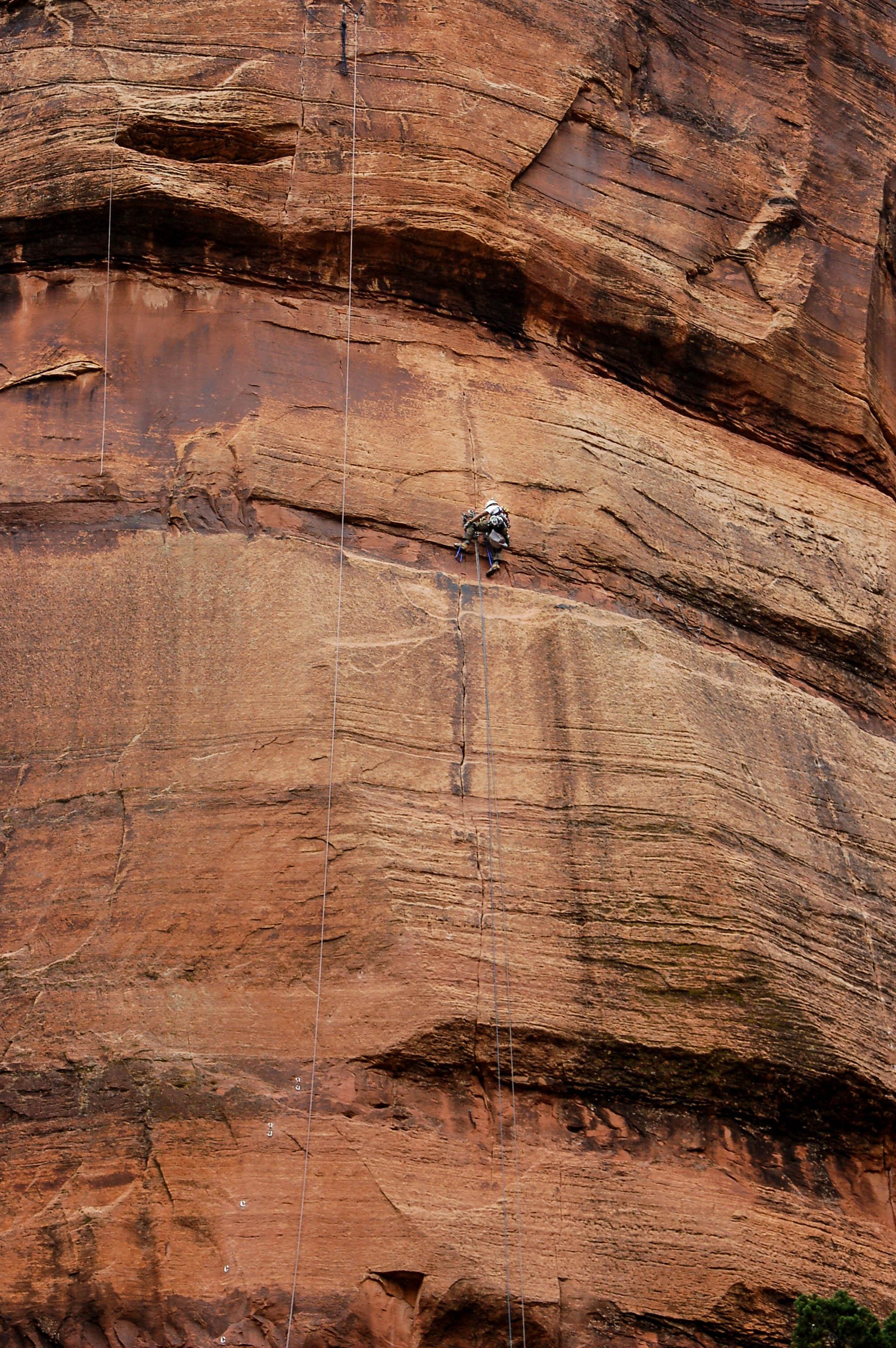 Climbing the Rockface