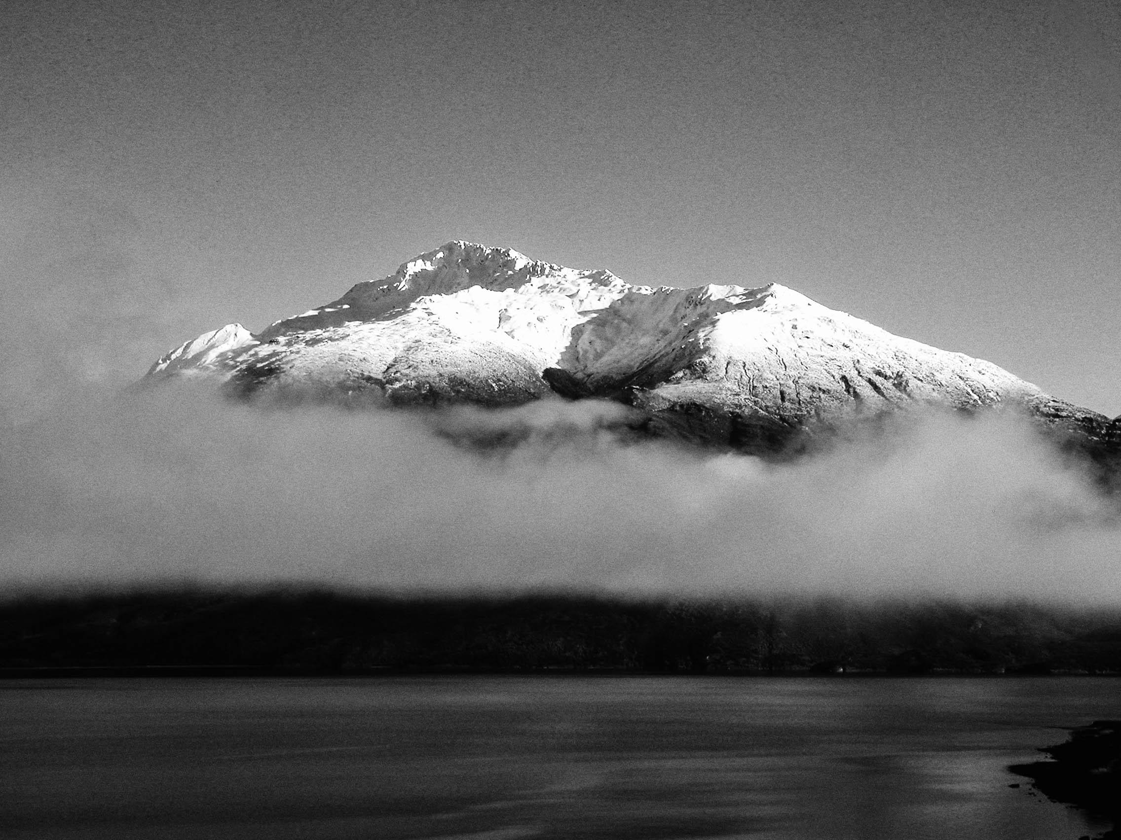 Early Monring Fog in Fiordland