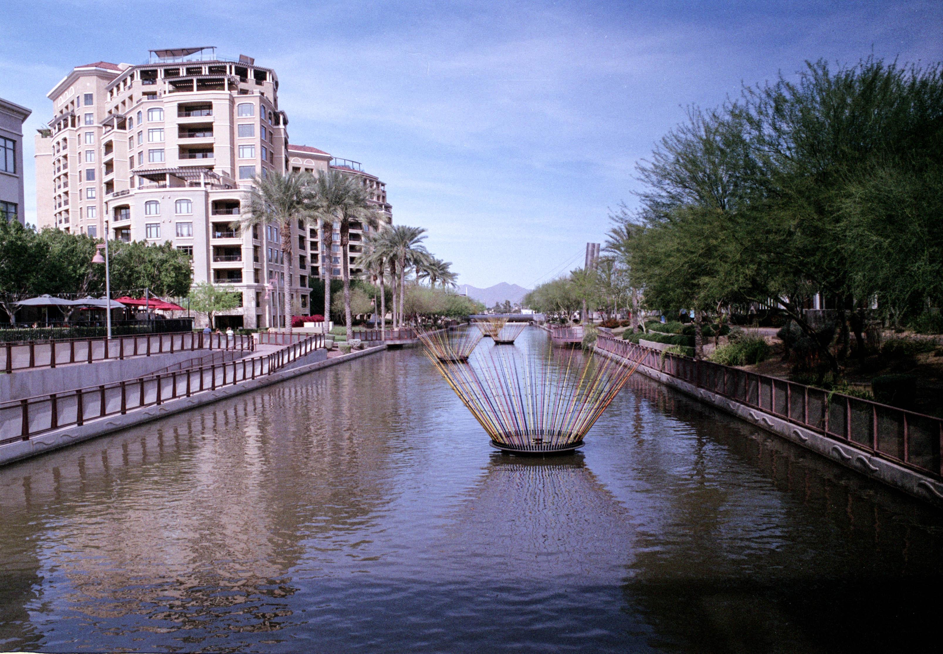 By the Riverwalk