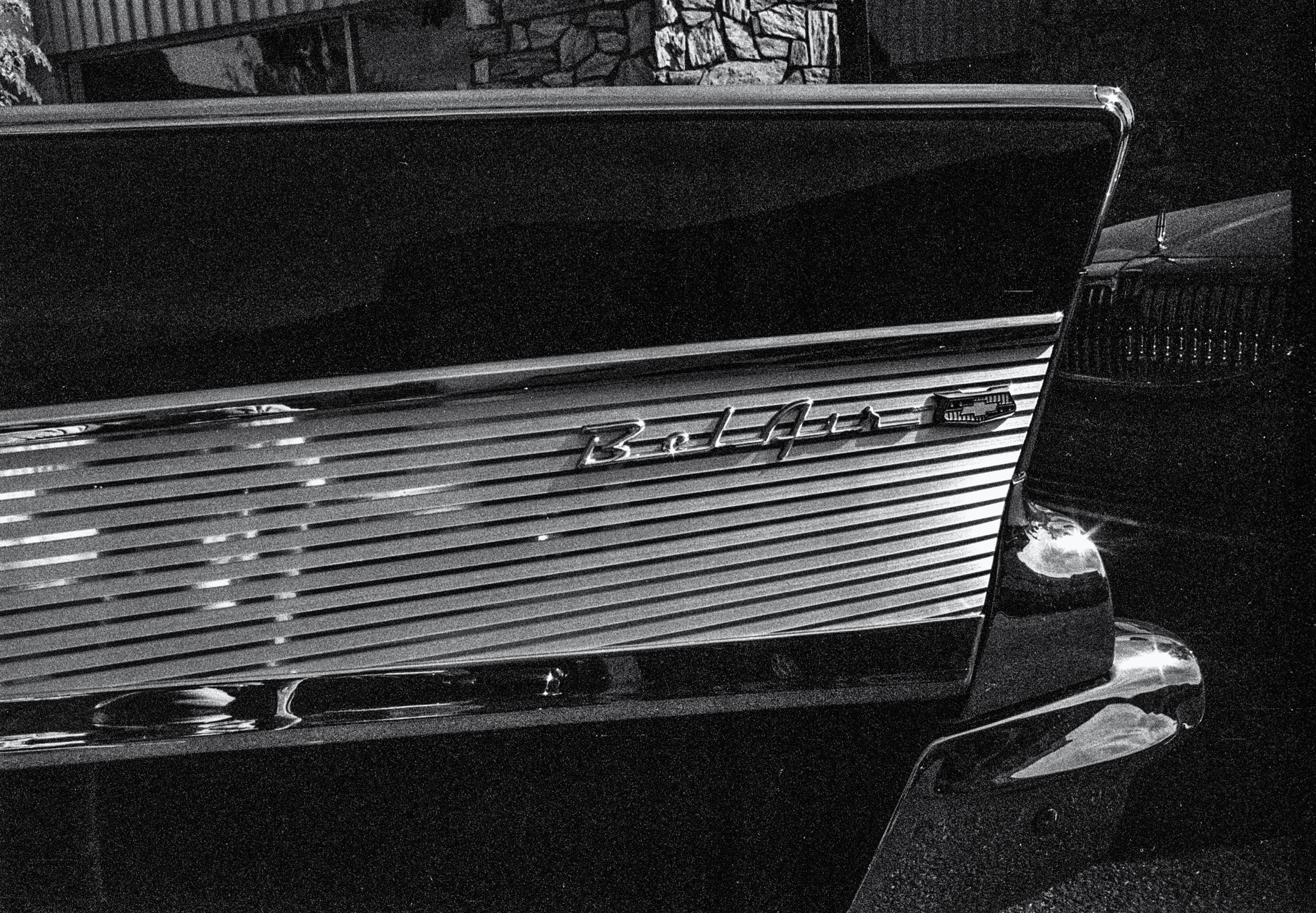 Classic Chevy Bel Air Fin