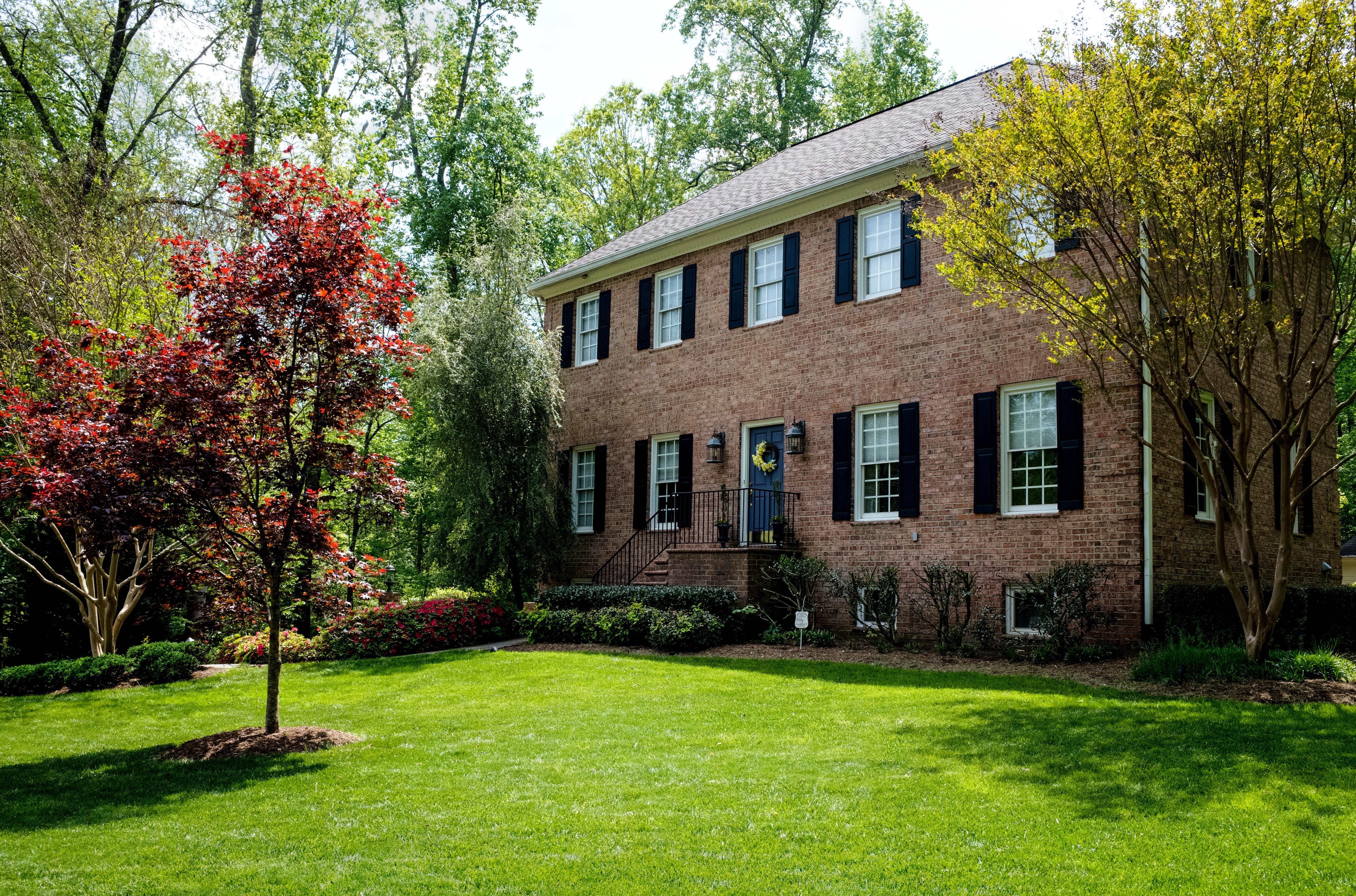 Peaceful North Carolina Brick Home