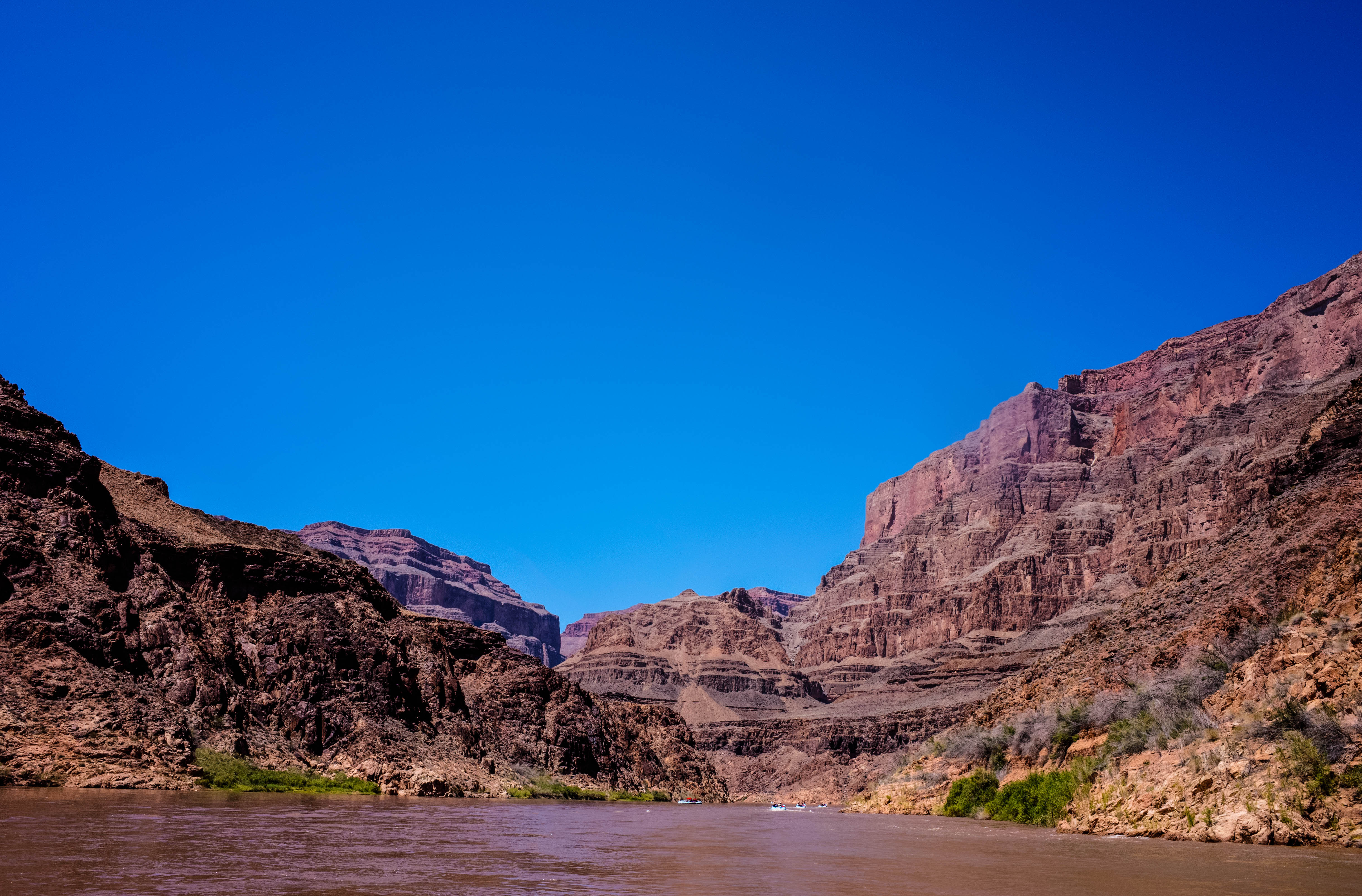 Rafting the Lower Grand Canyon